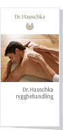Dr. Hauschka Holistic Back Treatment