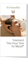 "Dr.Hauschka Treatment ""One Hour Time for Myself"""
