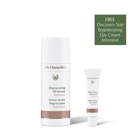 Regenerating Oil Serum Intensive w/ Regenerating Day Cream Intensive trial